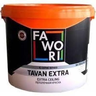 Fawori Extra Tavan Boyası Beyaz 17.5 Kg